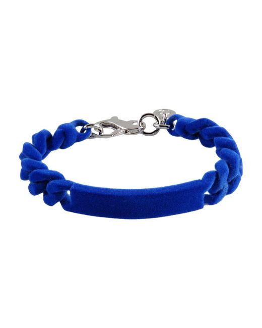 MM6 by Maison Martin Margiela - Blue Bracelet - Lyst