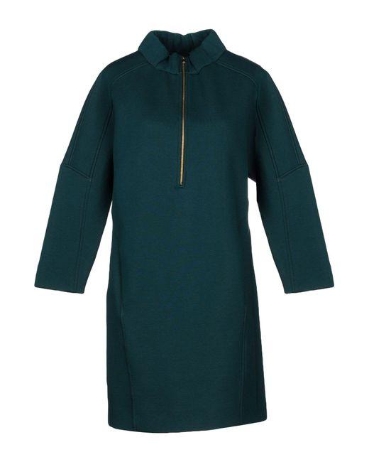 Marni - Green Short Dress - Lyst