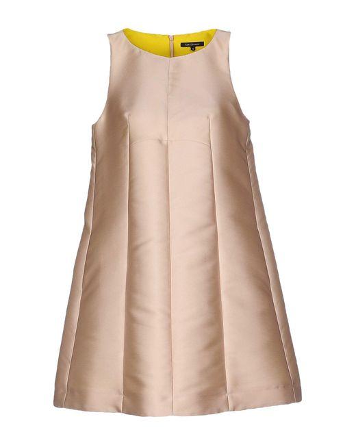 Tara Jarmon | Pink Short Dress | Lyst