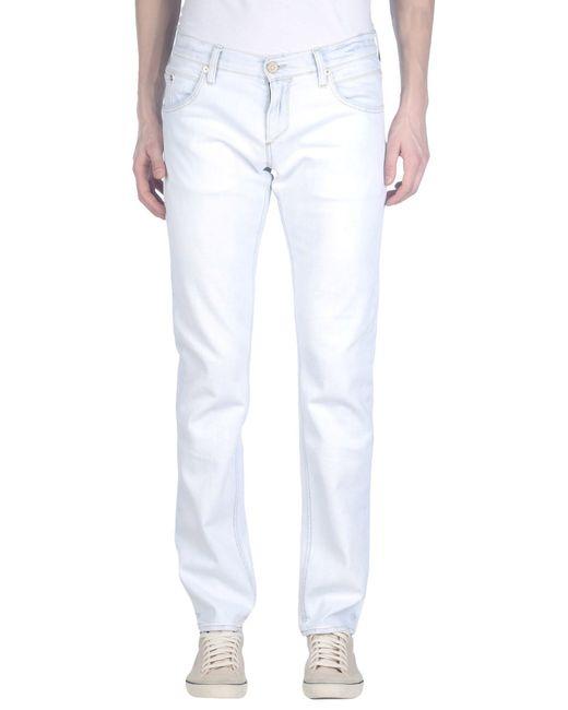 Meltin' Pot | White Denim Trousers for Men | Lyst