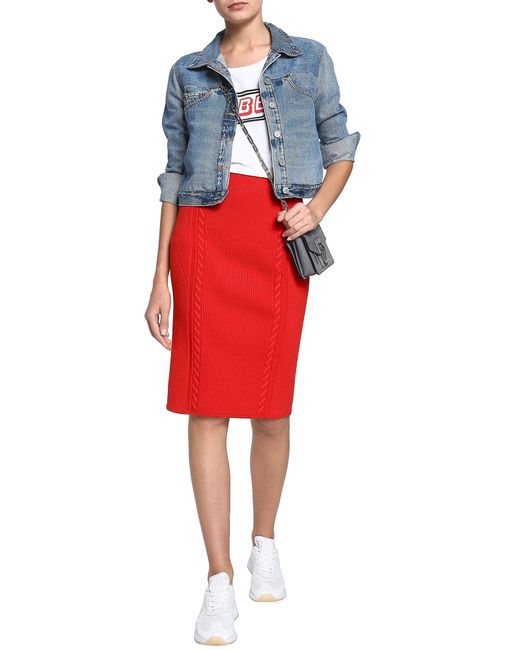 Rag & Bone Red Knielanger Rock