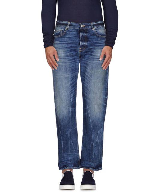 Golden Goose Deluxe Brand | Blue Denim Pants for Men | Lyst