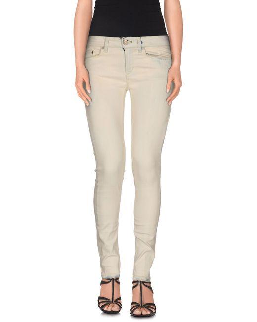 Dondup | Natural Denim Pants | Lyst