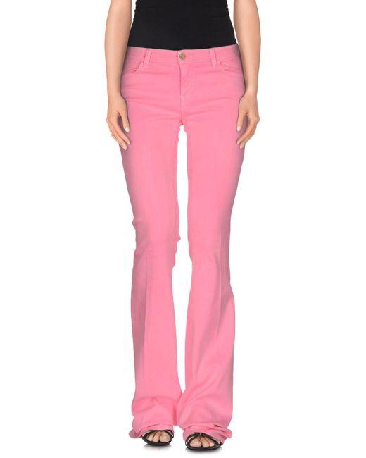 Twin Set | Purple Denim Trousers | Lyst