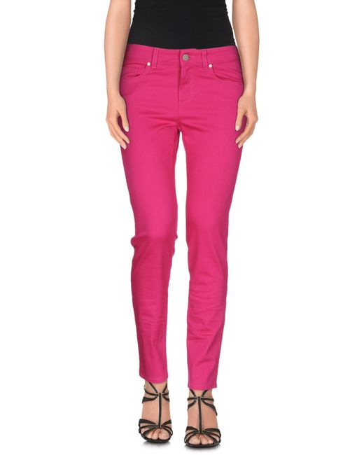 Alexander McQueen | Purple Denim Pants | Lyst