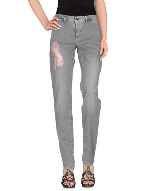 Incotex Red | Gray Casual Pants | Lyst