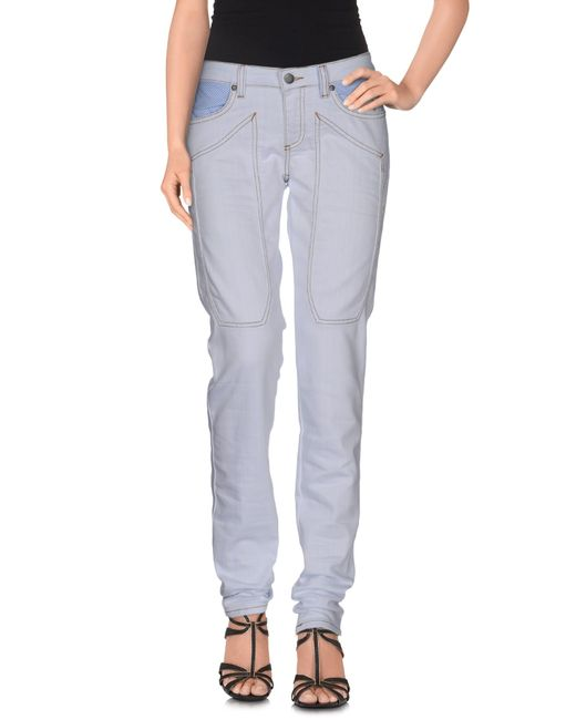Jeckerson | Blue Denim Trousers | Lyst