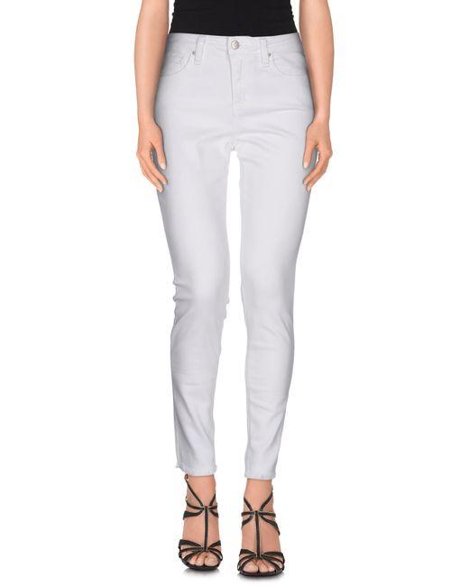 Joe's Jeans | White Denim Pants | Lyst