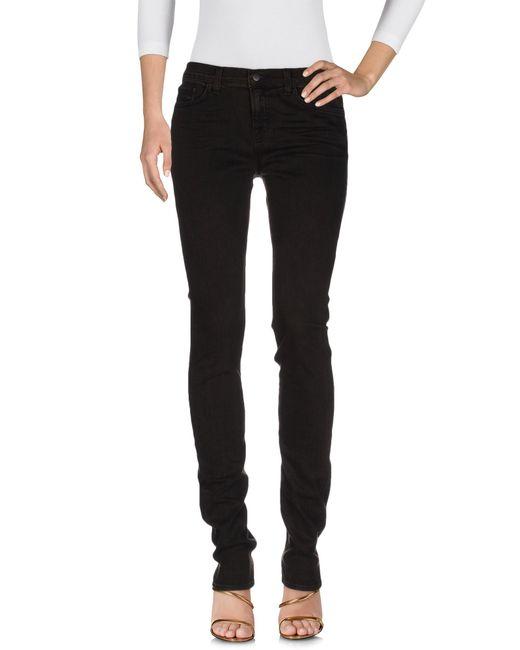 J Brand | Black Denim Pants | Lyst