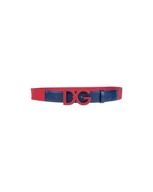 Cinturón Dolce & Gabbana de hombre de color Red