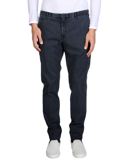 Incotex | Black Casual Pants for Men | Lyst