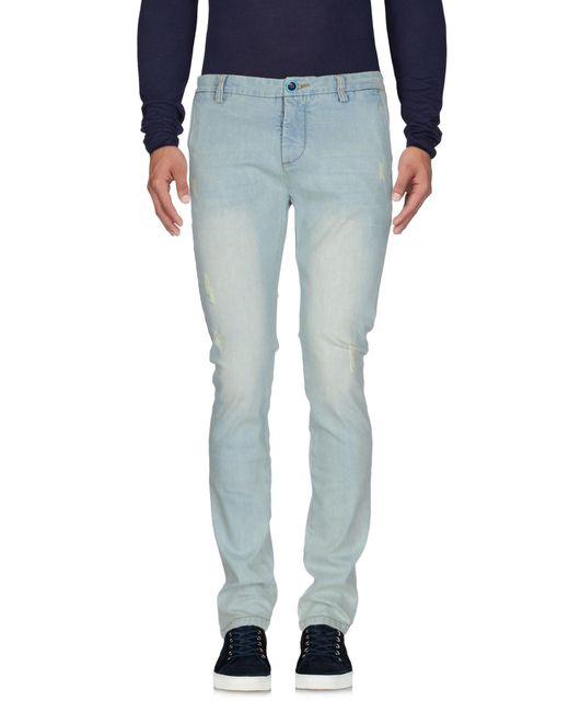 Dimattia   Blue Denim Trousers for Men   Lyst