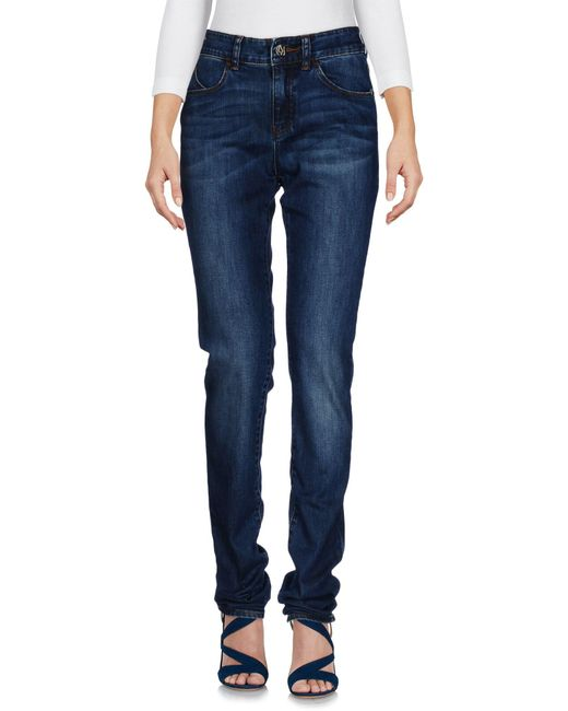 Armani Jeans | Blue Denim Trousers | Lyst