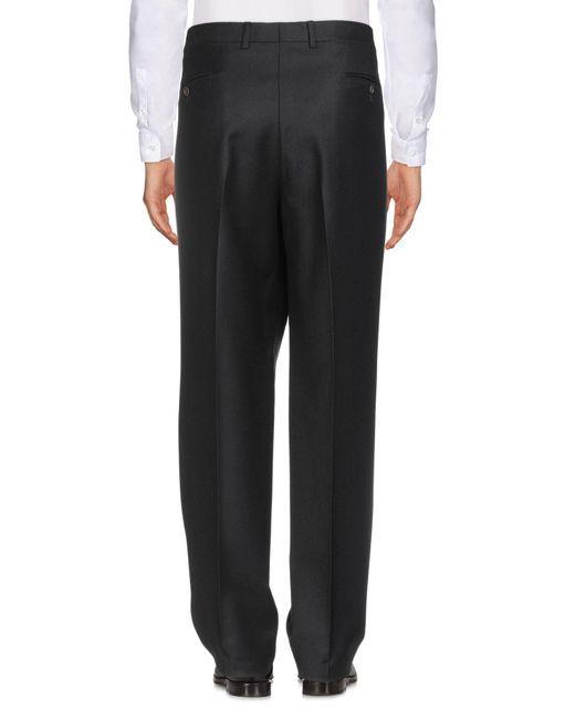 Pantalone di Vigano' in Black da Uomo