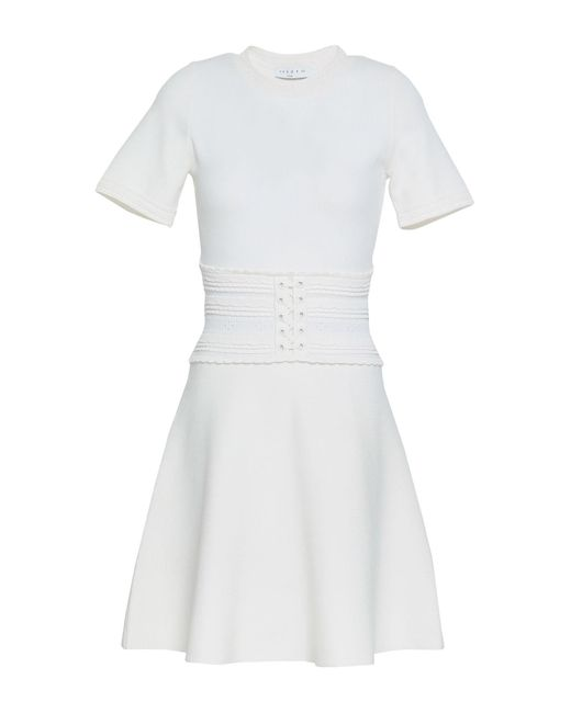 Robe courte Sandro en coloris White