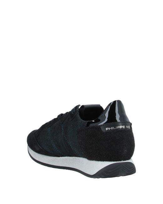 Philippe Model Black Low Sneakers & Tennisschuhe