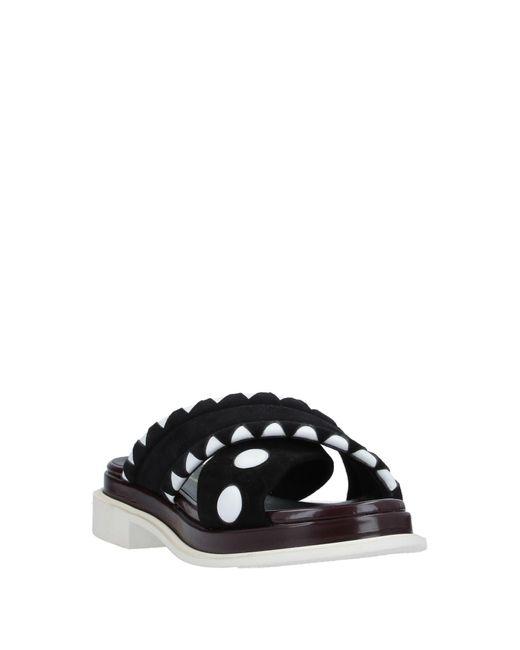 Robert Clergerie Women's Black Sandals