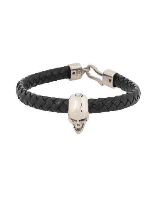 Alexander McQueen Armband in Black für Herren