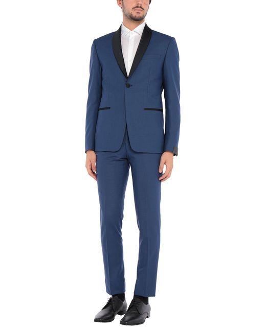 Costume Alessandro Dell'acqua pour homme en coloris Blue