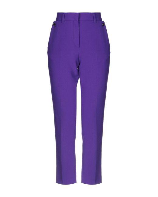 Space Purple Casual Trouser