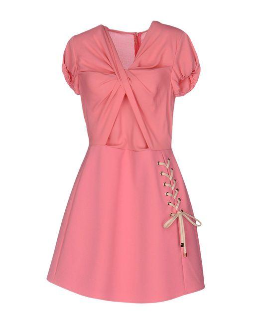 Betty Blue Pink Short Dress