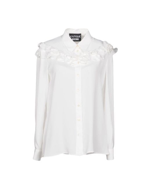 Boutique Moschino - White Shirt for Men - Lyst