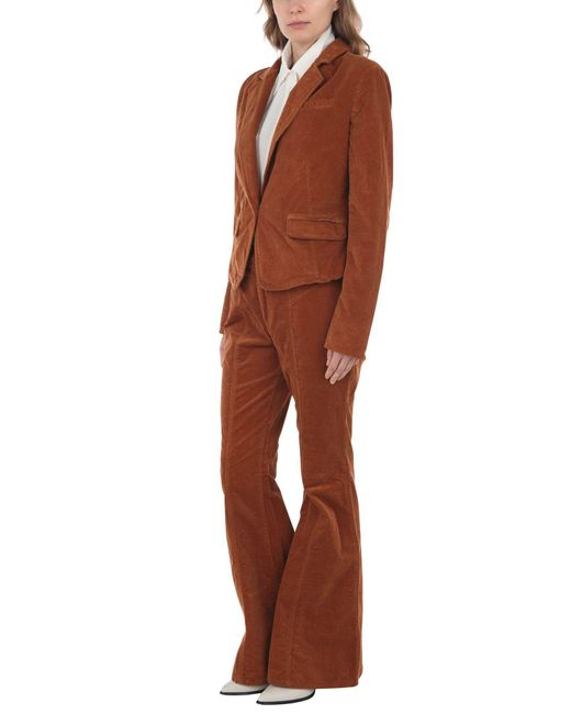 Free People Brown Women's Suit