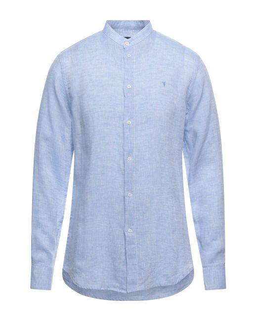 Trussardi Blue Shirt for men