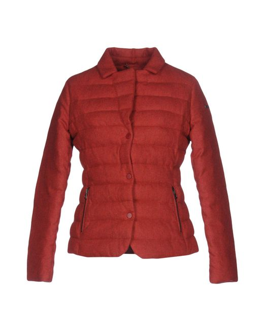 Historic Red Down Jacket