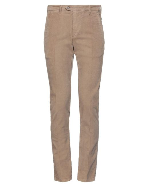 0/zero Construction Brown Casual Trouser for men