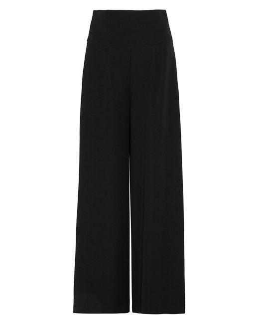 ADEAM Black Casual Trouser