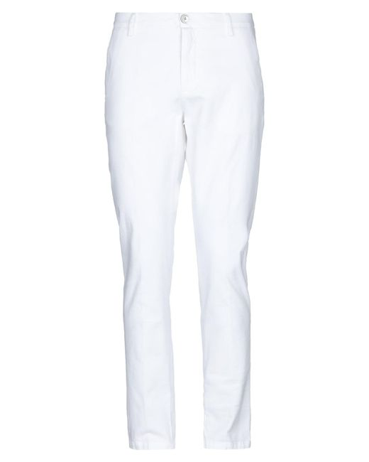 Aglini White Casual Pants for men