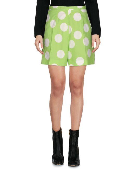 Mini-jupe Stella Jean en coloris Green