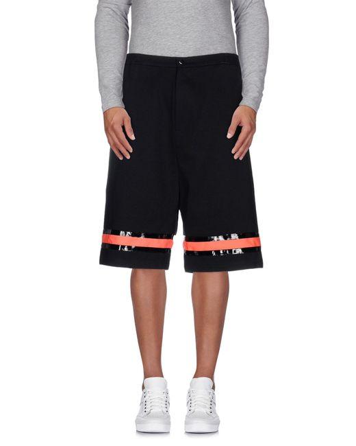 Cy Choi | Black Bermuda Shorts for Men | Lyst