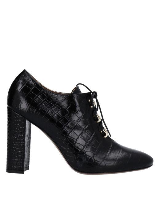 L'Autre Chose Black Lace-up Shoe