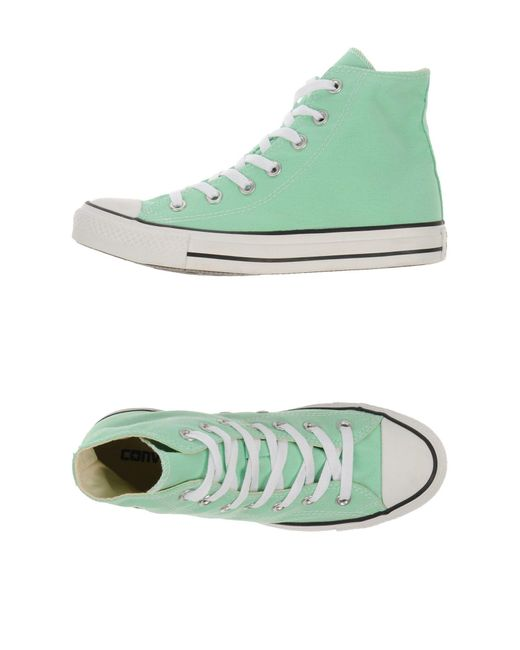 Converse | Green High-tops & Sneakers for Men | Lyst