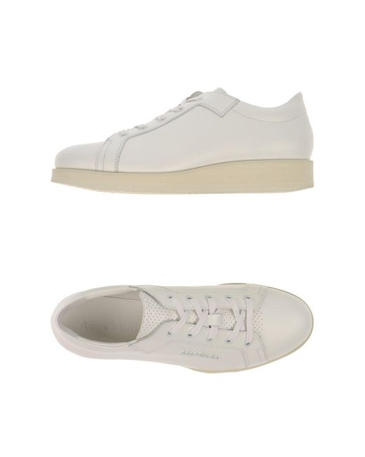 Acne | White Low-tops & Sneakers | Lyst
