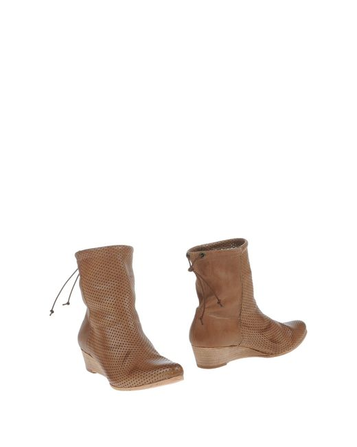 Lemarè | Natural Ankle Boots | Lyst