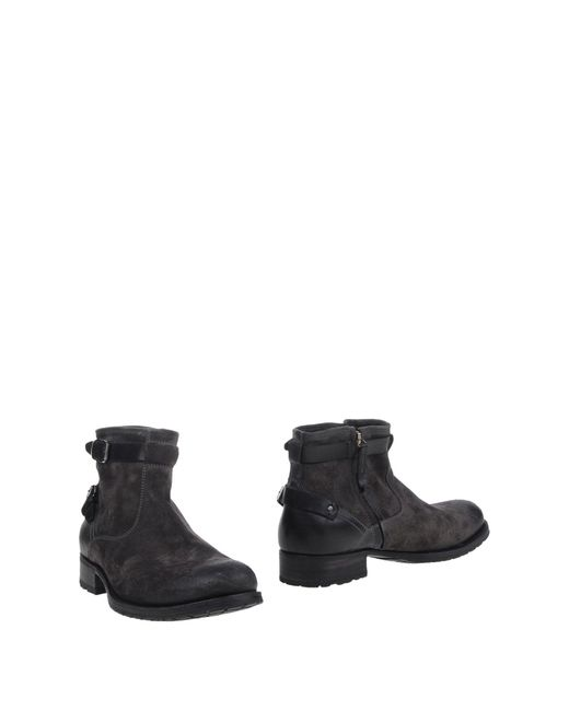 N.d.c. Made By Hand | Gray Ankle Boots | Lyst