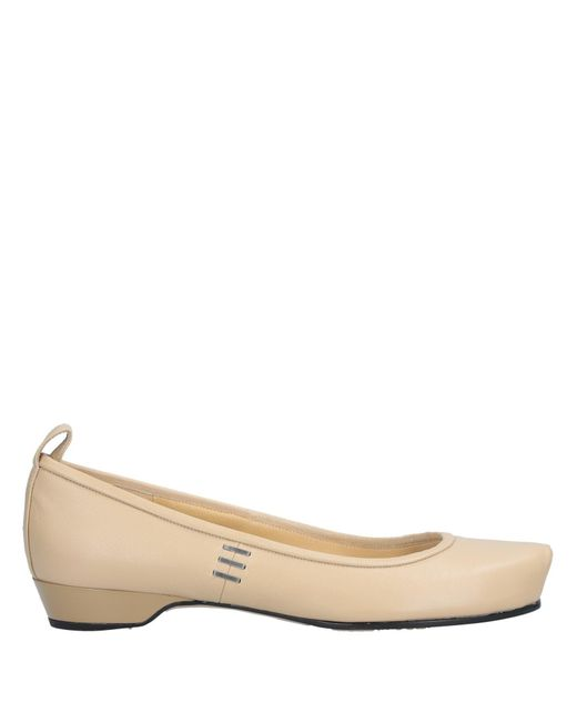 Marc By Marc Jacobs - Natural Ballet Flats - Lyst