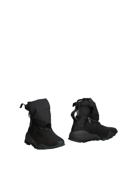 Y-3 Black Ankle Boots for men