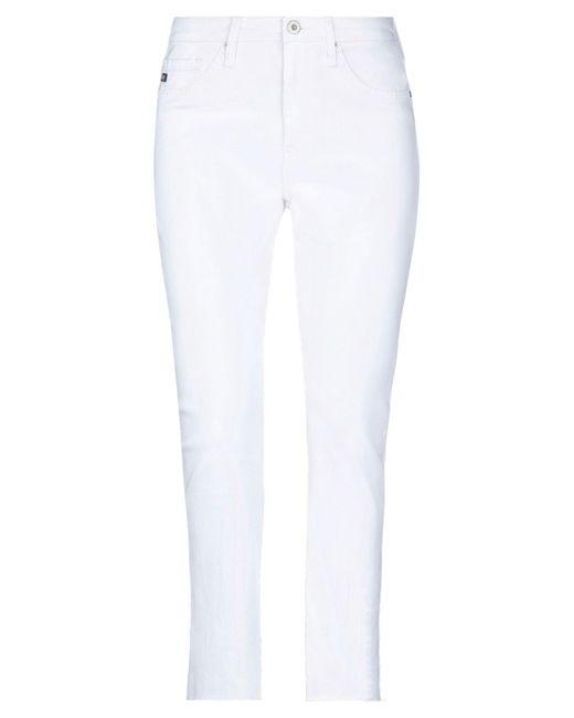AG Jeans White Denim Pants