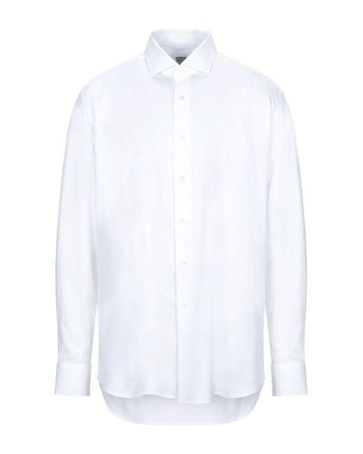 Xacus Hemd in White für Herren