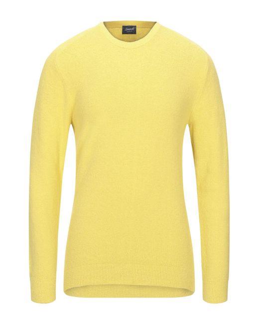 Pullover Drumohr de hombre de color Yellow