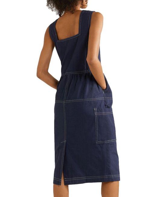Vestido a media pierna L.F.Markey de color Blue