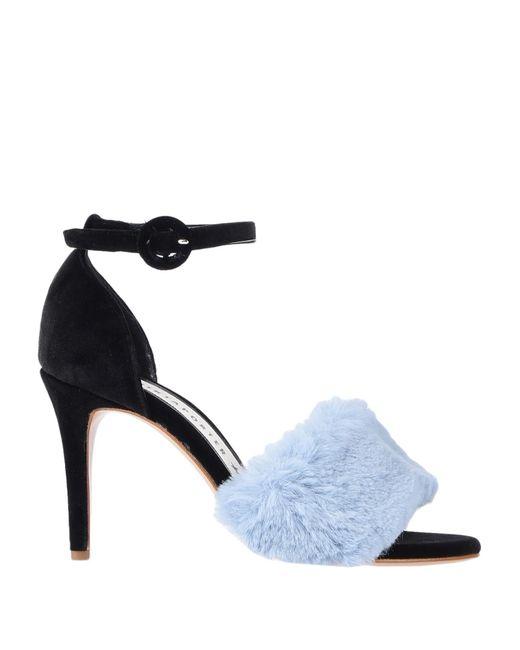 Shirtaporter Blue Sandale