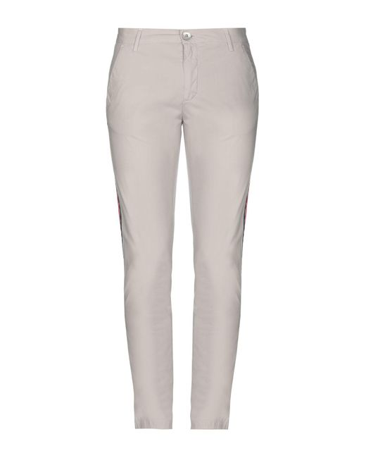 Pantalone di Aglini in Gray da Uomo
