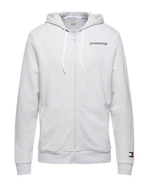 Sweat-shirt Tommy Sport pour homme en coloris Gray
