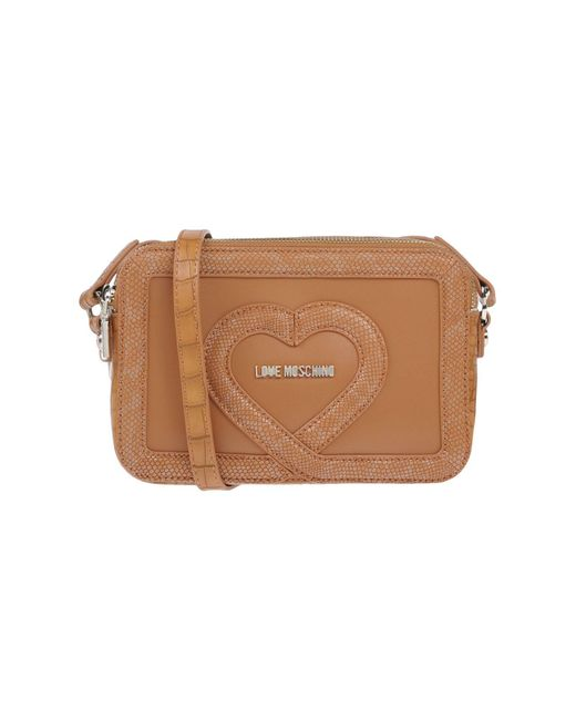 Love Moschino - Natural Cross-body Bag - Lyst
