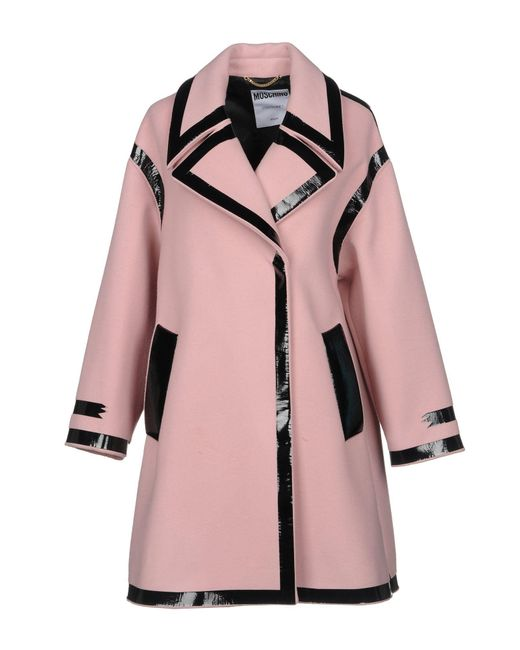 Moschino - Pink Coats - Lyst